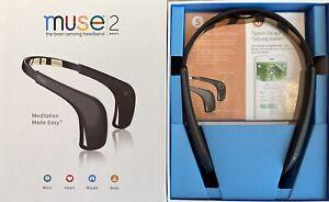 Muse 2 the Brain-Sensing Headband - Grey/Black Excellent Condition + Hard Case