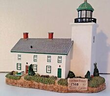 "MINT IN BOX-""HARBOUR LIGHTS""- # 205 HORTON POINT N.Y.SIGNED -COMPLETE&ORIGINAL"