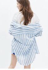 Madewell Oversize Button Down Shirt Major Stripe Cotton XS