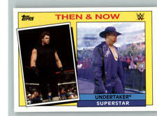 2015 Topps WWE Heritage Then and Now #28 Undertaker