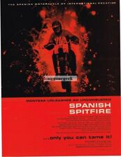 1966 Montesa  250cc La Cross Scrambler Special Motorcycle  Vtg Print Ad