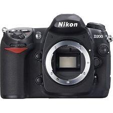 Excellent! Nikon D200 10.2 MP Digital SLR Body - 1 year warranty