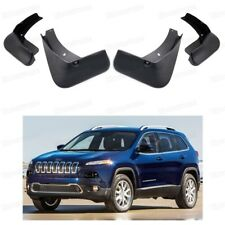 4x Car Mud Flaps Splash Guard Fender Mudguard for Jeep Cherokee 2014-2018