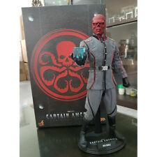 Hot Toys MMS 167 Red Skull Captain America First Avenger 1/6 Scale