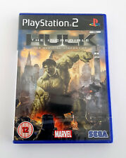 PS2 Playstation 2 The Incredible Hulk (2008) The Official Game BRAND NEW RARE!