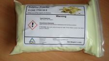 Sulphur  powder ~ High grade 1 kilo Best value on EBAY L@@K