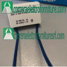 Condensatore con fili per Rele` Interruttore Finder