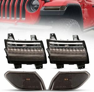 BUNKER INDUST JL LED Fender Light Kit, LED Sequential Flashing Turn Signal with