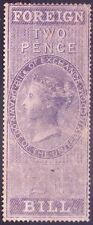 GREAT BRITAIN - VICTORIA QUEEN - FOREIGN BILL - 2 PENCE - 1857
