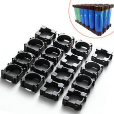 100ㅡPack 18650 Battery Cell Spacer Radiating Shell Plastic Heat Holder Bracket