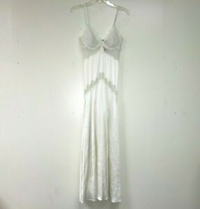 Lisa's Folly Luxe New Women's VINTAGE SILK GOWN w SUPPORT S/P B RTL: $218 R560