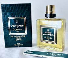 Guerlain Vetiver vintage & pre barcode