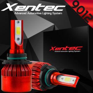 Pair 9006 HB4 388W 38800LM CREE LED Headlight Kit Light Bulb 6000K White 9012 K