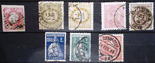 PORTUGAL 1862 - 1923 lot of used stamps. Fine selection. VG conditions