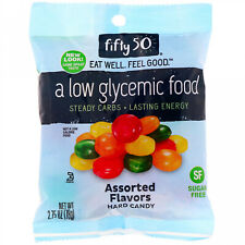 Fifty 50, Assorted Flavors Hard Candy, Sugar Free, 2.75 Oz (78 G)