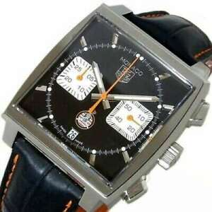 Free Shipping Pre-owned TAG HEUER Club Monaco Limited Model CAW211K.FC6311