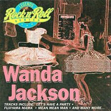 (CD) Wanda Jackson - Legends Of Rock'n Roll - Let's Have A Party, Mean Mean Man