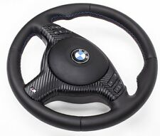 M3 M5 Lederlenkrad + Airbag BMW E39 E46 M3 M5 X5 Multifunktion  Blende