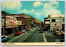 Delta Saloon Bucket of Blood Saloon Virginia City, Nevada Continental Postcard