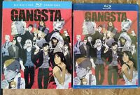 Gangsta Complete Series (Blu-Ray 2-Disc w perfect box) English Dub Anime no DVD