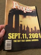People Magazine Sept. 11, 2001 A DAY THAT SHOOK AMERICA Terrorist Attack (JD)