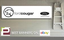 Ford Cougar Banner, for Workshop, garage, office, Showroom sign, Man Cave, V6