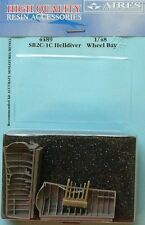 Aires 1/48 SB2C-1C helldiver wheel bay pour accurate miniatures/revell # 4489