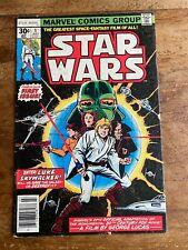 STAR WARS #1 MARVEL COMICS 1977 1ST PRINT NEWSSTAND A NEW HOPE v