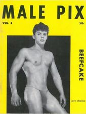 Male Pix Beefcake, Issue No.2 by Lon 1957, Vintage Gay Male Magazine