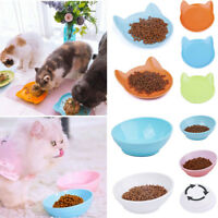 ThinkPet Cat Food Bowl Cute Wide Mouth No Spill Cat Dish Feeding Dishes