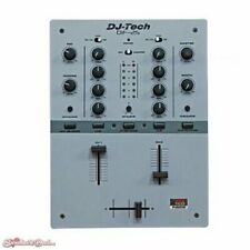 DJ Tech DIF-2S 2 Channel Full Featured Scratch Mixer Gray