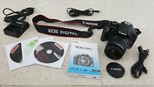 Canon EOS 450D Spiegelreflexkamera Digital 12.2MP Objektiv 18-55mm