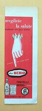 D281 - Advertising Pubblicità - 1959 - OLIO BERIO