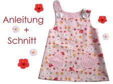 Schnitt+ Nähanleitung Hänge-Kleid für Babys + Kleinkinder als Ebook