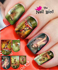 20 Mixed Set FANTASY FAIRIES #2 Nail Art Nail Decals Nail Transfers Nail WRAPS