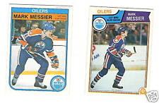 1982-83 & 1983-84 OPC HOCKEY CARDS OILERS MARK MESSIER