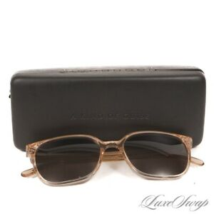 #1 MENSWEAR A Kind of Guise Made Germany Peach Translucent Marseille Sunglasses