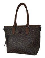 Handtasche Excellent LV CK von Einkaufszauber braun mit altgold - Shoppertasche