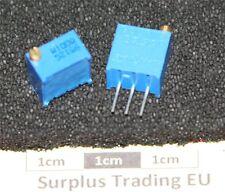 "Bourns 3299W 3/8"" Square 100Ω Vertical Trimpot Preset Resistor"