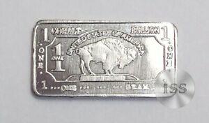 Fine .999 Cobalt Ingot, One Gram Pure Buffalo Bar, Collectible Elemental Bullion