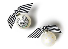 Alpha Omicron Pi Sorority Coton Colors Christmas Ornament Holiday New in Box AOP