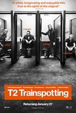 T2 Trainspotting A5 Poster (2017) - Ewan McGregor, Jonny Lee Miller