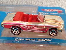 HOT WHEELS 40th ANNIVERSARY TARGET EXCLUSIVE SUPER CHROMES 1970 CHEVELLE SS