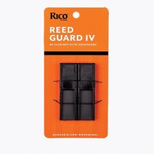 D'Addario Rico Reed Guard IV for Bb Clarinet/Alto Saxophone Keeps Reeds Secure