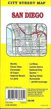 City Street Map of San Diego, California, by GMJ Maps