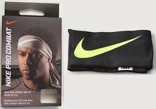 New Nike Pro Combat Dri-FIT Head Tie 3.0 Anthracite Headband Football Baseball