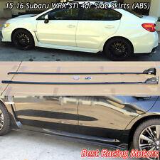 STi Style Side Skirts (ABS) Fits 15-18 Subaru WRX STi 4dr