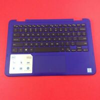 """Genuine Dell Inspiron 11 3168 11.6"""" Palmrest Touchpad Keyboard 0NGRGR Blue"""