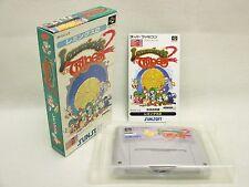 LEMMINGS 2 the Tribes Item ref/069 Super Famicom Nintendo Japan Game sf