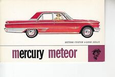Mercury Meteor 4 Door Sedan for sale at Delaware Motors Corp  Margaretville NY